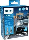 Philips Ultinon Pro6000 H7-LED Scheinwerferlampe mit Straßenzulassung, +230% helleres Licht